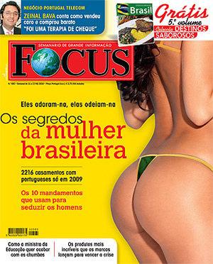 Mulher brasileira em Portugal