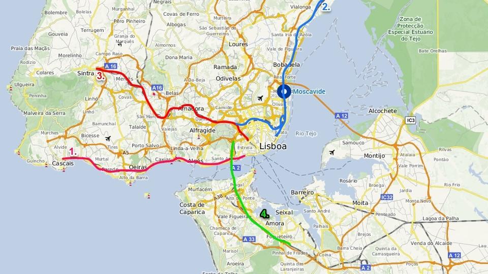 mapa regiao lisboa Vai morar em Lisboa e não sabe por onde começar? – Banho de chuva mapa regiao lisboa